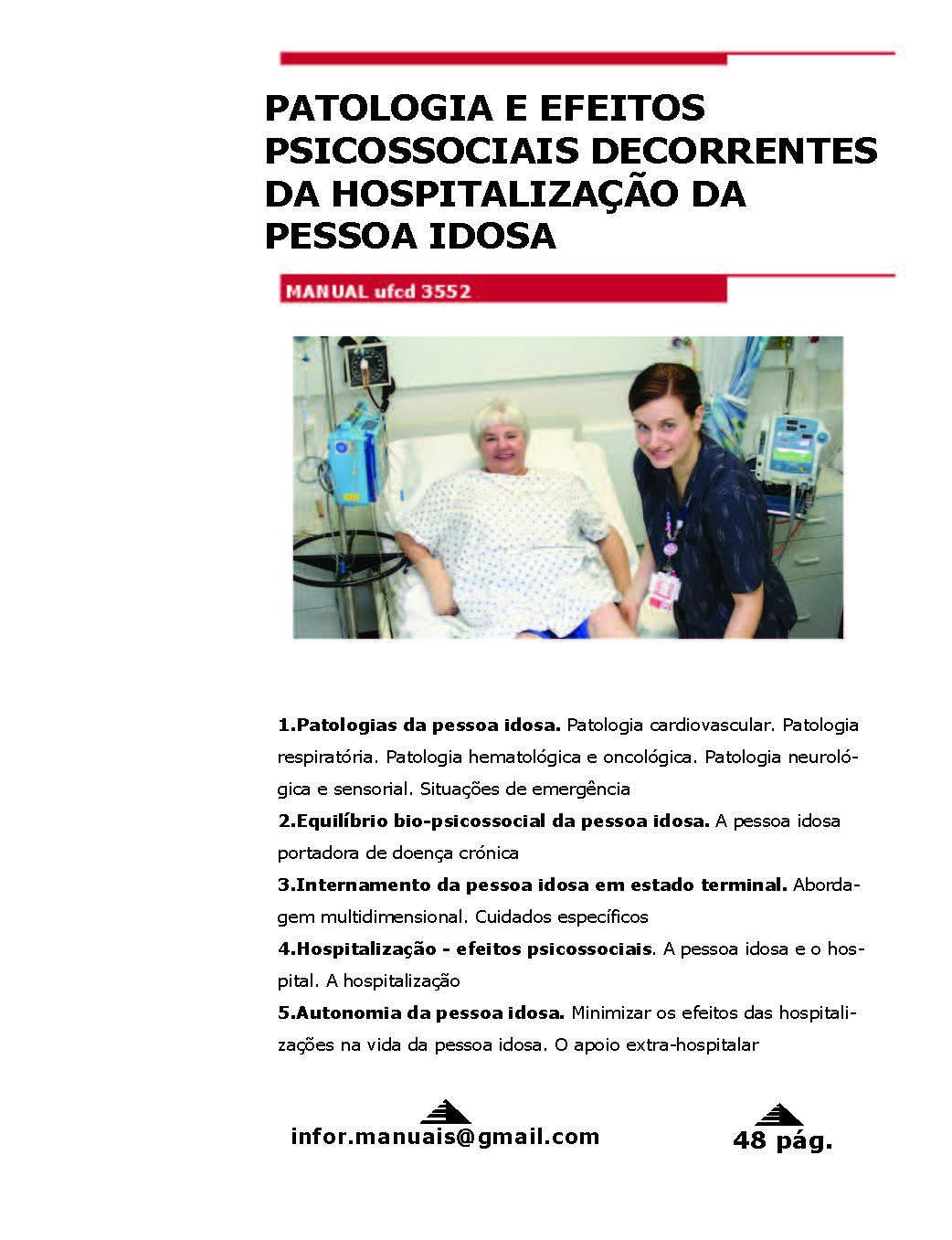 3552. Patologia e efeitos psicossociais decorrentes da hosp da pessoa idosa