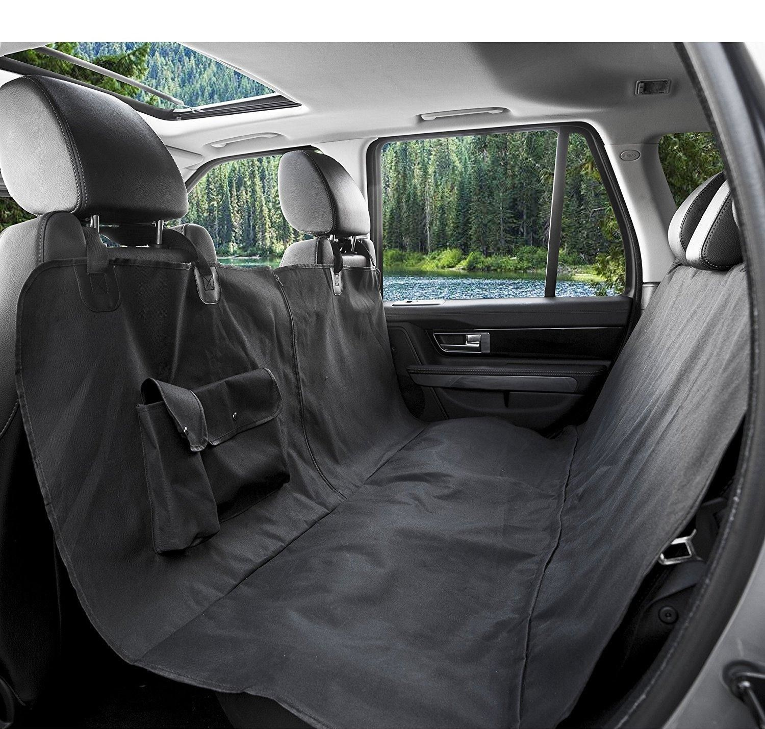 This Car Seat Cover Is Loved By 4 000 Dog Parents But Also Please Look At These Pictures Of Good Boys Dog Car Seat Cover Waterproof Car Seat Covers Pet Seat Covers