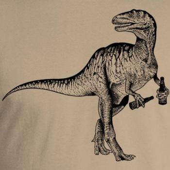 9128a6a25 nothing says Earth Day like a beer drinking dinosaur, lol #brewershirts