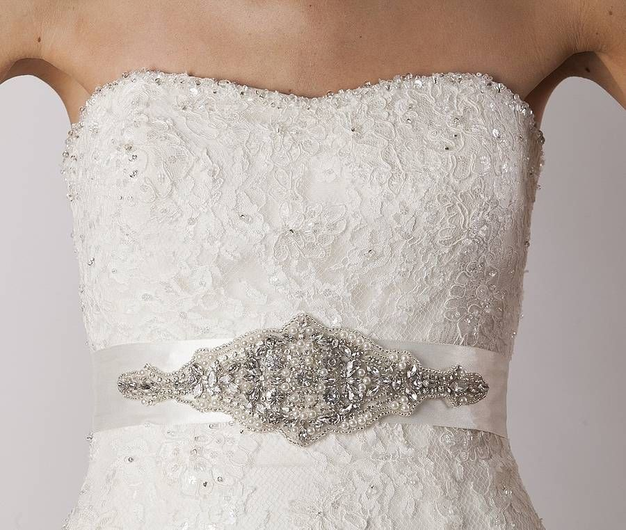 Amy Wedding Dress Belt | Wedding dress, Tea length wedding dress ...