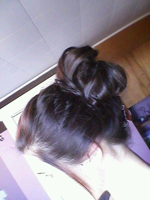 New way I do my hair, love it!
