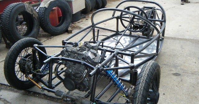 CycleCar Build: Bits and pieces | Homebuilt stuff | Reverse trike