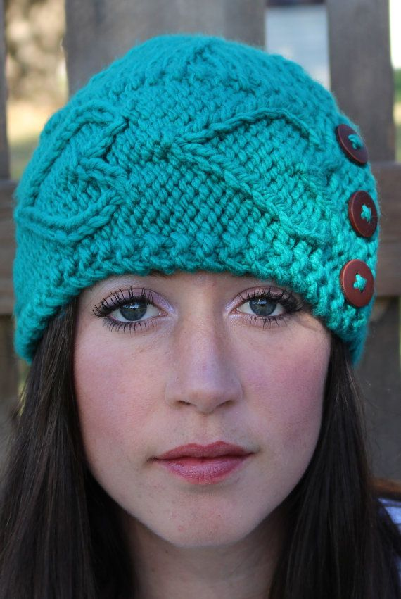 Strong Hearts Hat Knitting Pattern Ad Beanie Hat With Wide Band