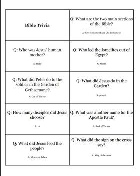 Bible Trivia (With images) | Bible facts, Bible questions ...
