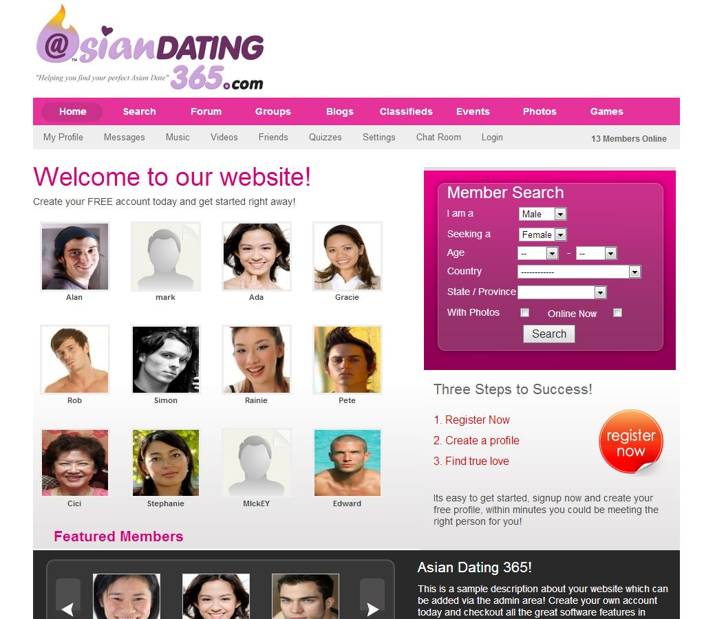 Asian personals for dating