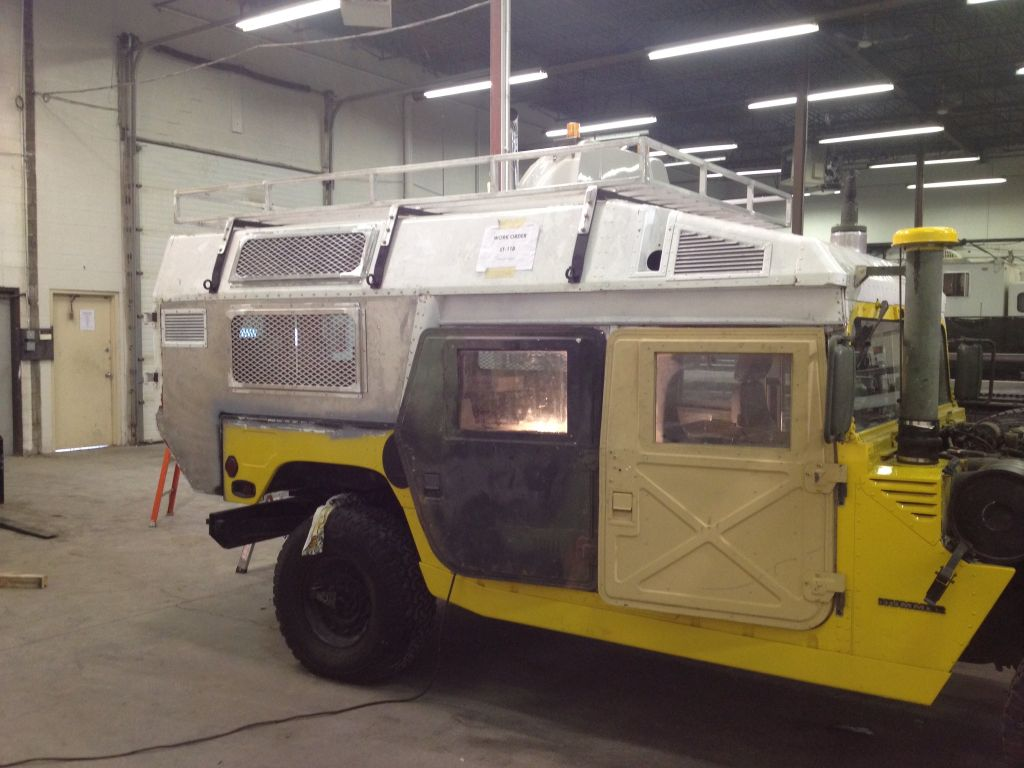 Hummer H1 W Modified M996 Ambulance Body Hummer H1 Hummer Expedition Truck