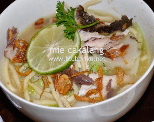 Mie Cakalang Memasak Makanan Sehat Resep Masakan Indonesia