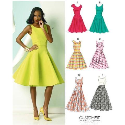Vogue 8998 Dress   Pinterest