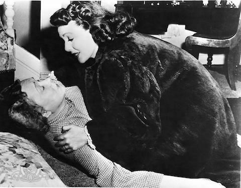 The Stranger  Loretta Young wore one of her signature fur coats in The Stranger. (We hope it's fake.)
