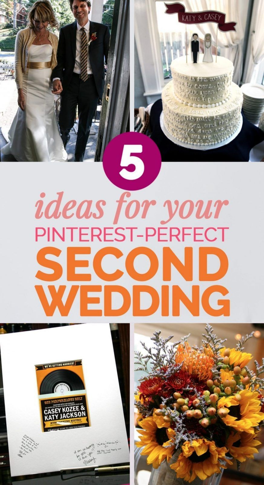 How To Plan The Perfect Second Wedding Over 40 Wedding Ideas For Second Marriage Second Weddings Wedding Dresses Second Marriage