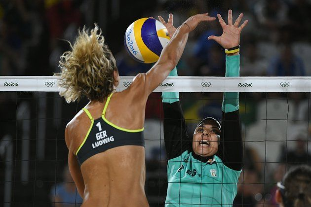 These Olympic Beach Volleyball Photos Prove That Sports Are For Everyone Female Athletes Volleyball Photos Olympics