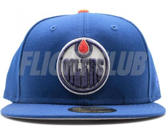 Edmonton Oilers Royal Orange 59fifty Fitted Baseball Cap By New Era X Nhl Fitted Baseball Caps Edmonton Oilers Baseball Cap