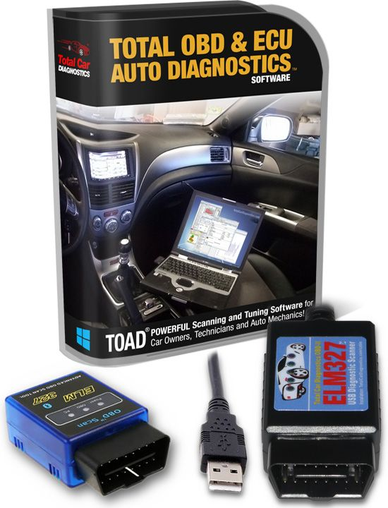 TOAD PRO: OBD Scanner Software for ELM327 on OBDII OBD2 Cars | Car