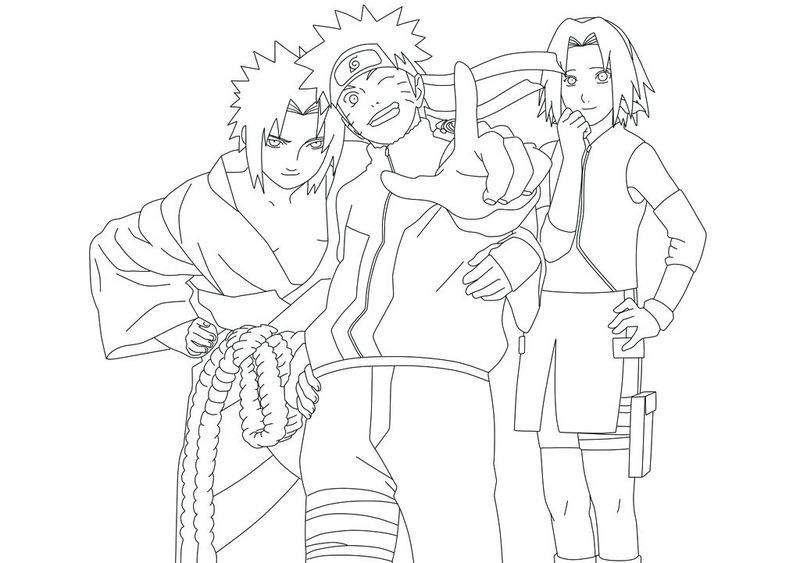 Have Fun With These Naruto Coloring Pages Ideas Chibi Coloring Pages Cartoon Coloring Pages Naruto Team 7