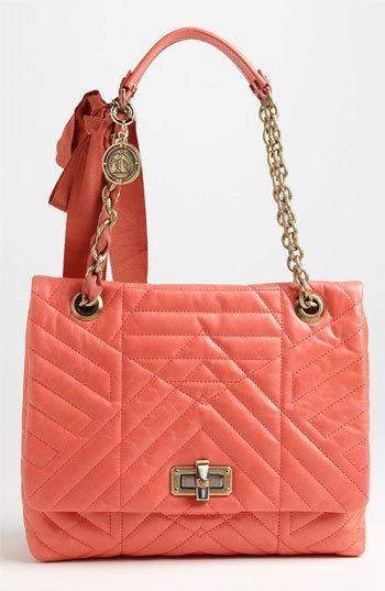 Lanvin 'Happy' Quilted Leather Shoulder Bag
