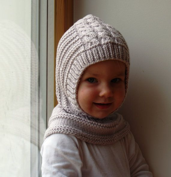 READY TO SHIP all sizes! Merino Wool Balaclava Hat, Baby/ Toddler ...