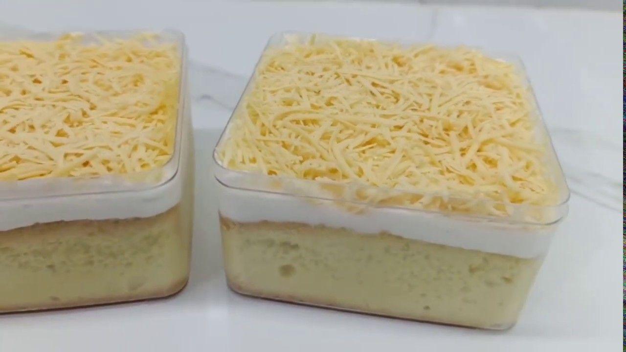 Cara Membuat Milk Bath Dessert Box Desserts Dessert Boxes Food