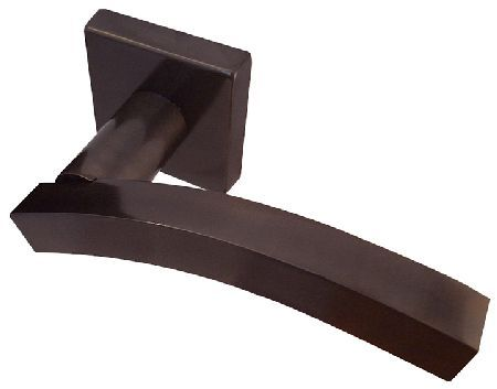 Door Furniture Direct Dark Bronze Curved Kubus Lever Handles Dark bronze curved Kubus lever handles on 50mm square back plate. Screws and connecting spindle are included. http://www.MightGet.com/january-2017-12/door-furniture-direct-dark-bronze-curved-kubus-lever-handles.asp