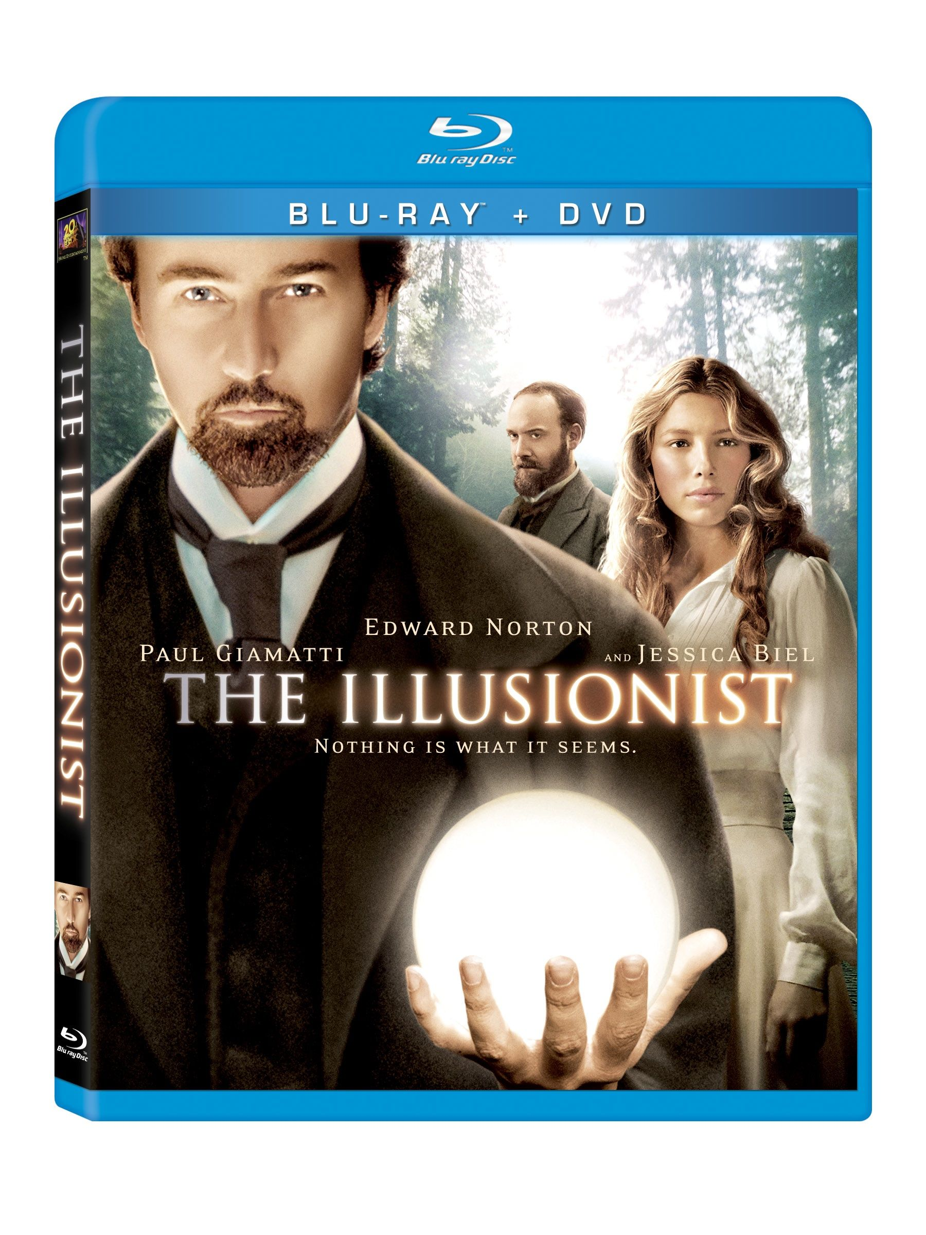 The Illustionist The illusionist, Edward norton, Movies