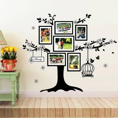 2b49092b7e Huge Family Tree and Crystals Wall Decal in 2019 | friends | Family ...