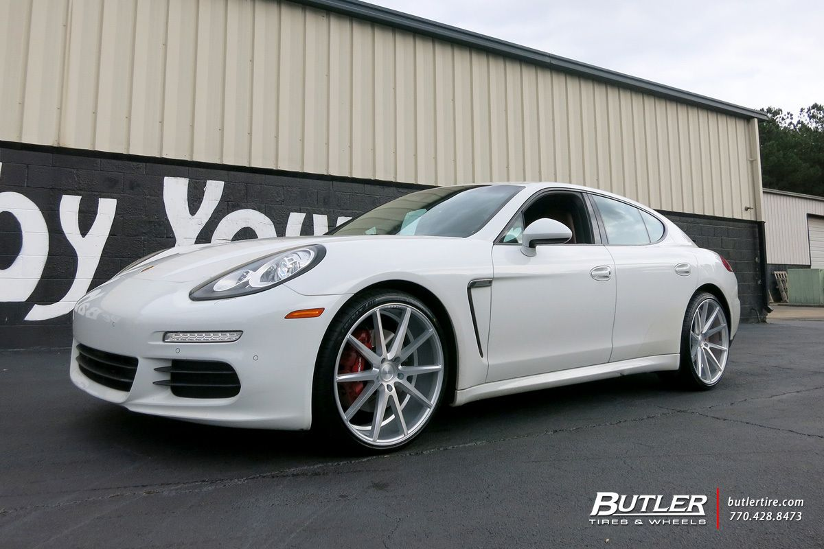 Porsche Panamera With 22in Vossen Vfs1 Wheels Exclusively From Butler Tires And Wheels In Atlanta Ga Porsche Panamera Porsche Vossen