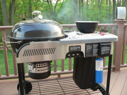 Weber Holzkohlegrill Performer : Using a grill as a smoker pinterest