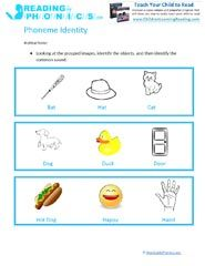 Phonemic Isolation and Phoneme Identity Activities & Worksheets ...