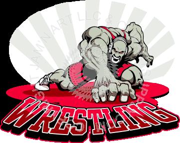 Wrestling Logos Clip Art Wrestling Logo With Man Logo Design Creative Wrestling Logo Design