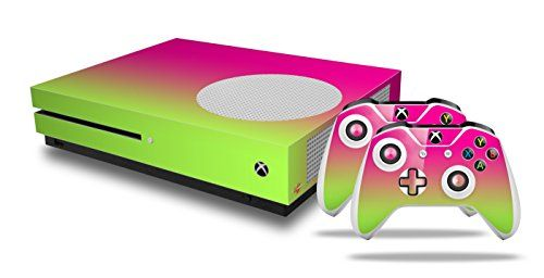 Devoted Skin For Ps4 Pro Smooth Fades Hot Pink Blue Playstation 4 Console Fashionable Style; In