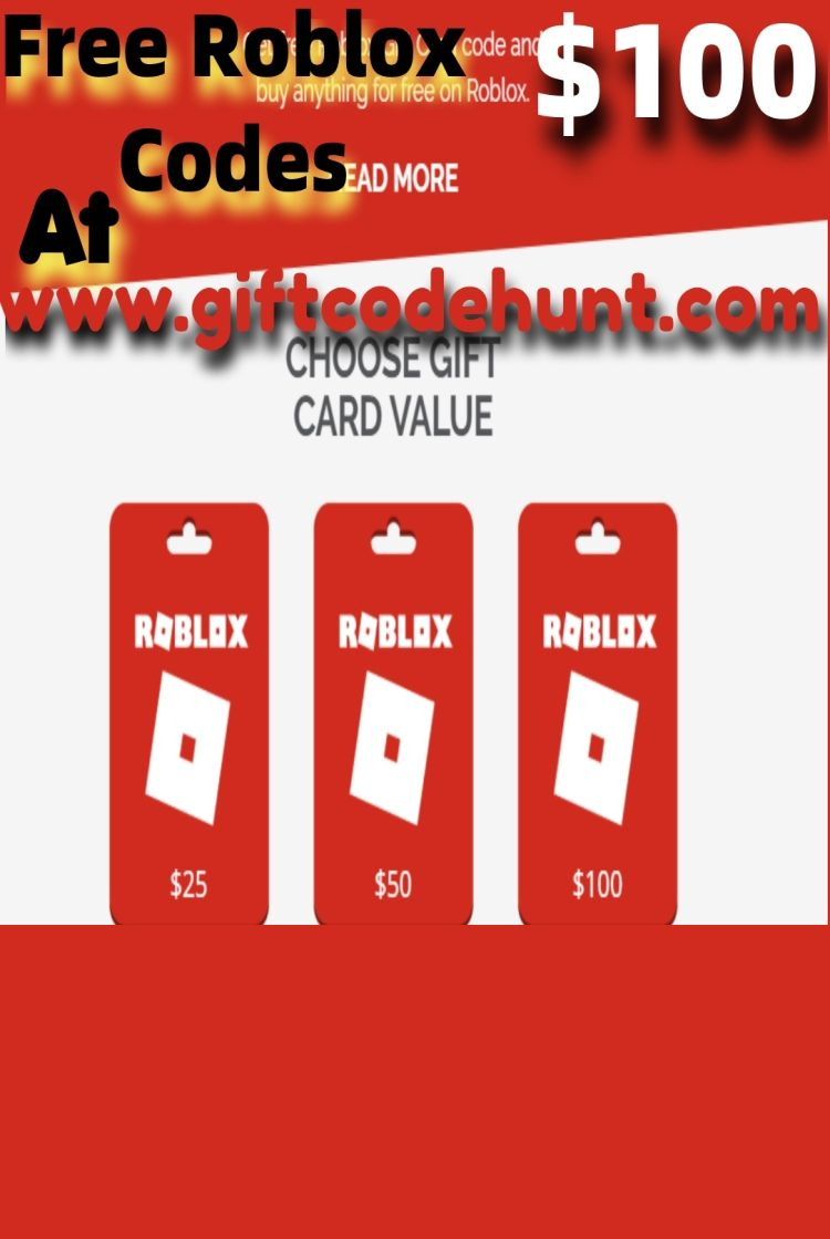 Get Free Roblox Gift Card And Buy As You Wish On Roblox Store Roblox Gifts Gift Card Free Gift Cards