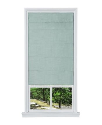 Cordless Faux Silk Fabric Roller Shade 23 X 64 Tan Products In 2019 Fabric Shades Roller Shades Window Coverings