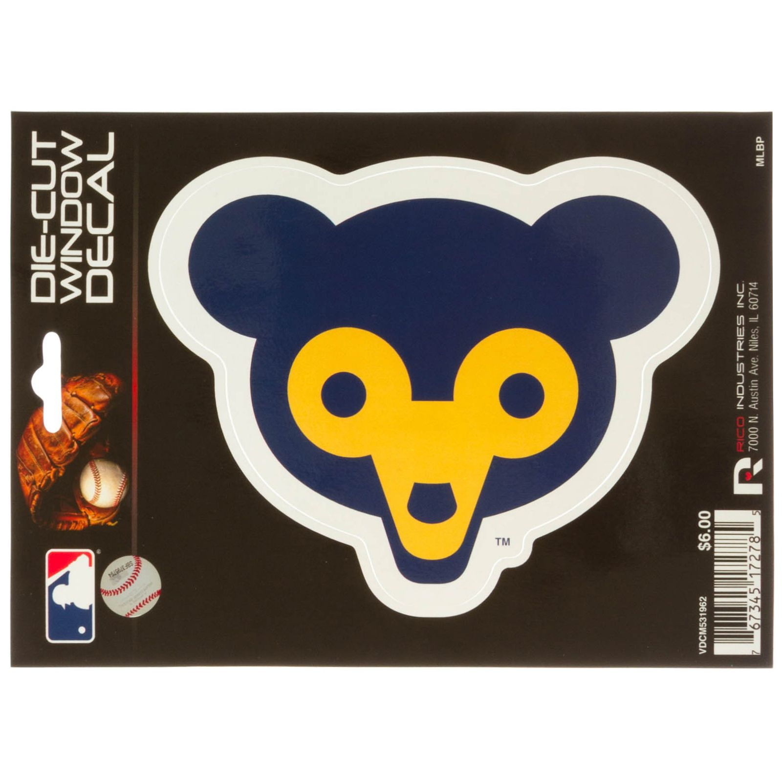 Rico Industries Bears Bumper Sticker