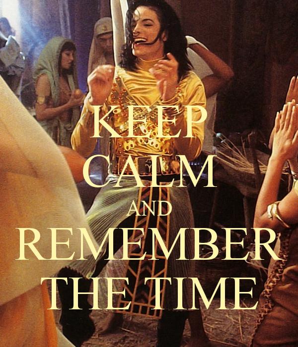 Michael Jackson HIStory World Tour - Michael Jackson Keep Calm