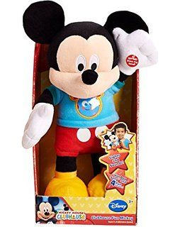 Disney Hot Diggity Dog Mickey Plush Mickey Mouse Toys Talking