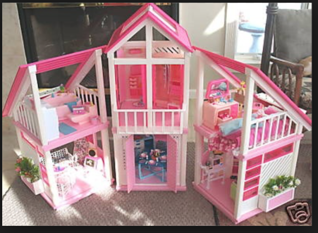The One And Only Mattel Barbie 1978 A Frame Dreamhouse Website For Devoted Fans Baribie S