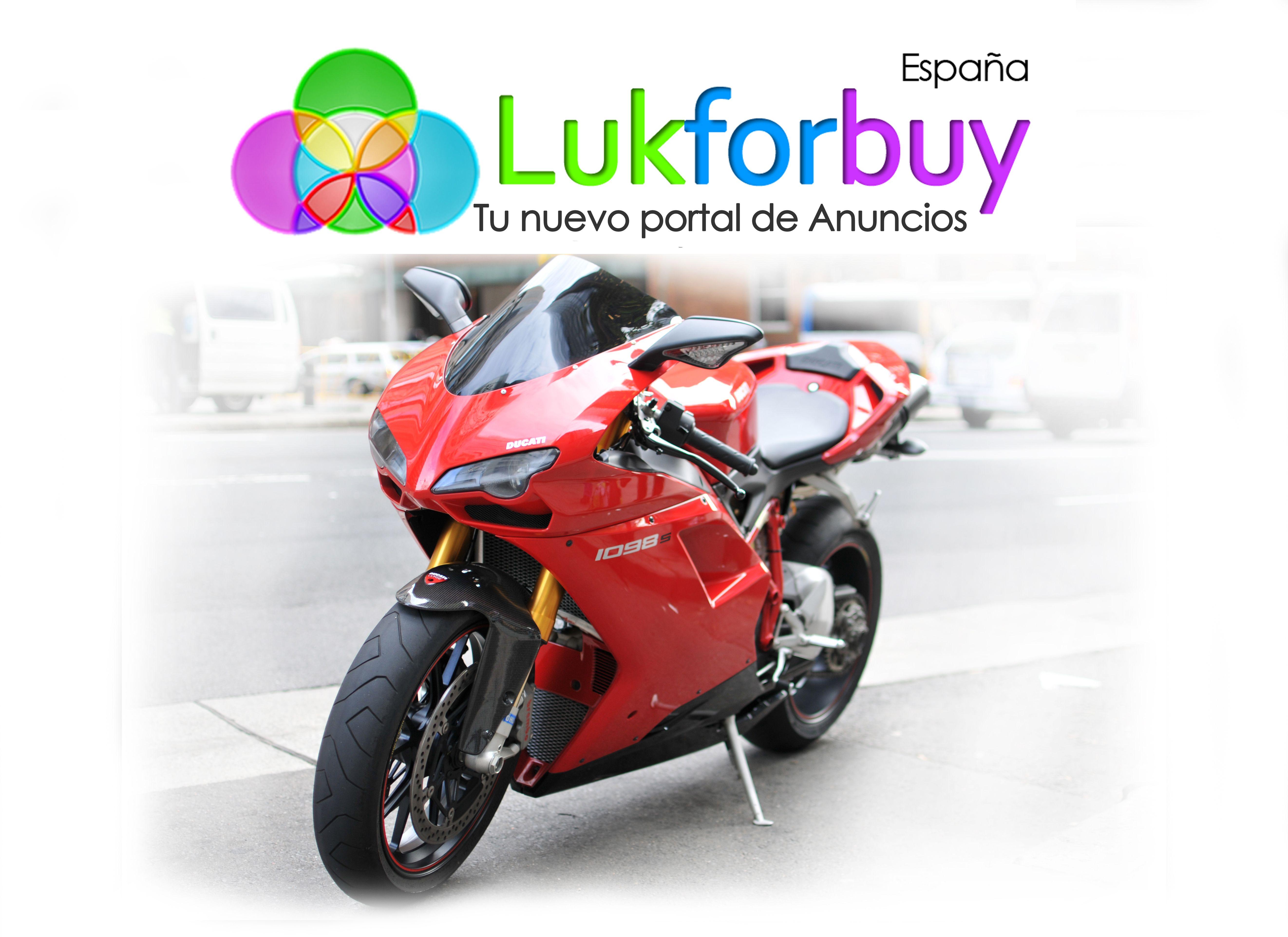 Lukforbuy Motos ,podrás vender y comprar al nivel que tu decidas , Lukforbuy tu nueva herramienta para vender y comprar, con estilo como el gran estilo de esta DUCATI
