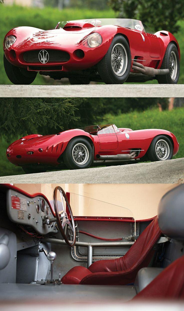 1956 Maserati 450S Prototyp #Maseraticlassiccars – #450S #Maserati #maseraticlas…