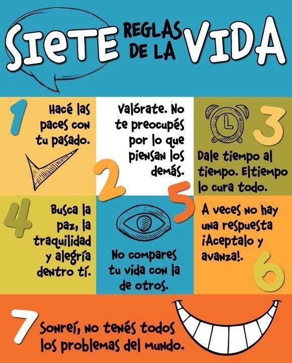 7 reglas de la vida.