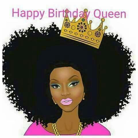 Happy Birthday Queen Black Girl Magic Art Black Women Artists