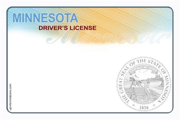 Fake Indiana Drivers License Template