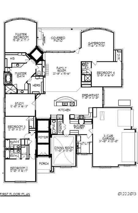 Trendmaker Homes New Home Plan Listing In Houston Tx House Plans New House Plans Floor Plans