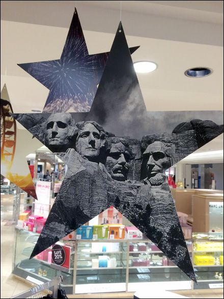 Macy\u0027s® Mount Rushmore Color Grey Fixtures in Retail Pinterest