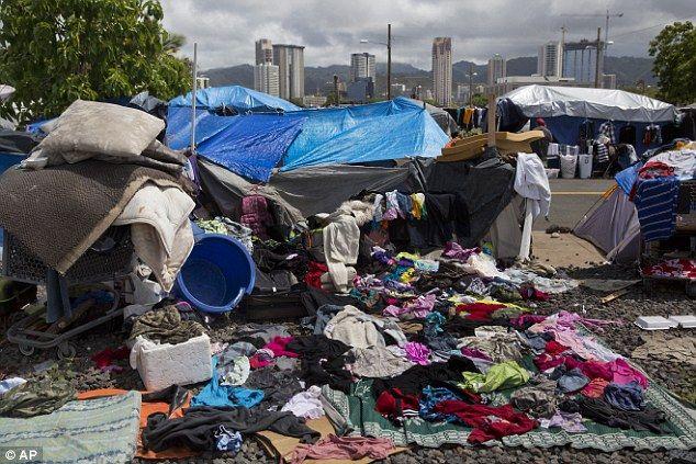 Hawaii Now Has The Nation S Highest Homeless Rate Per Capita Hawaii Homeless Image