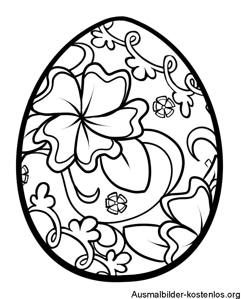 Ausmalbilder Ostereier Ostern Ausmalbilder Ostern Malvorlagen