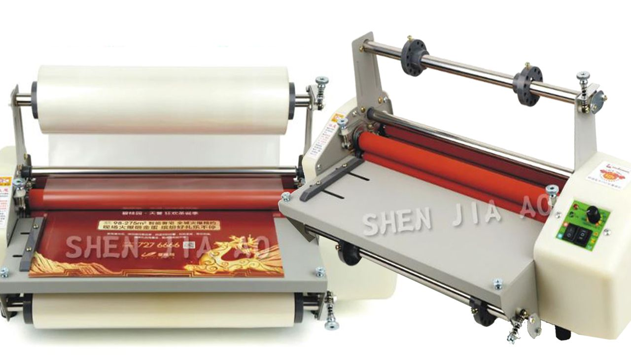 8350 Laminator Machine Hot Laminating Machine In 2020 Laminators Cold Rolled Machine