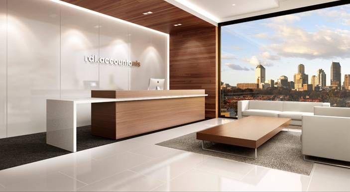 Reception Fitouts Melbourne, Australia   Zircon Interiors · Office  Reception DesignReception ...