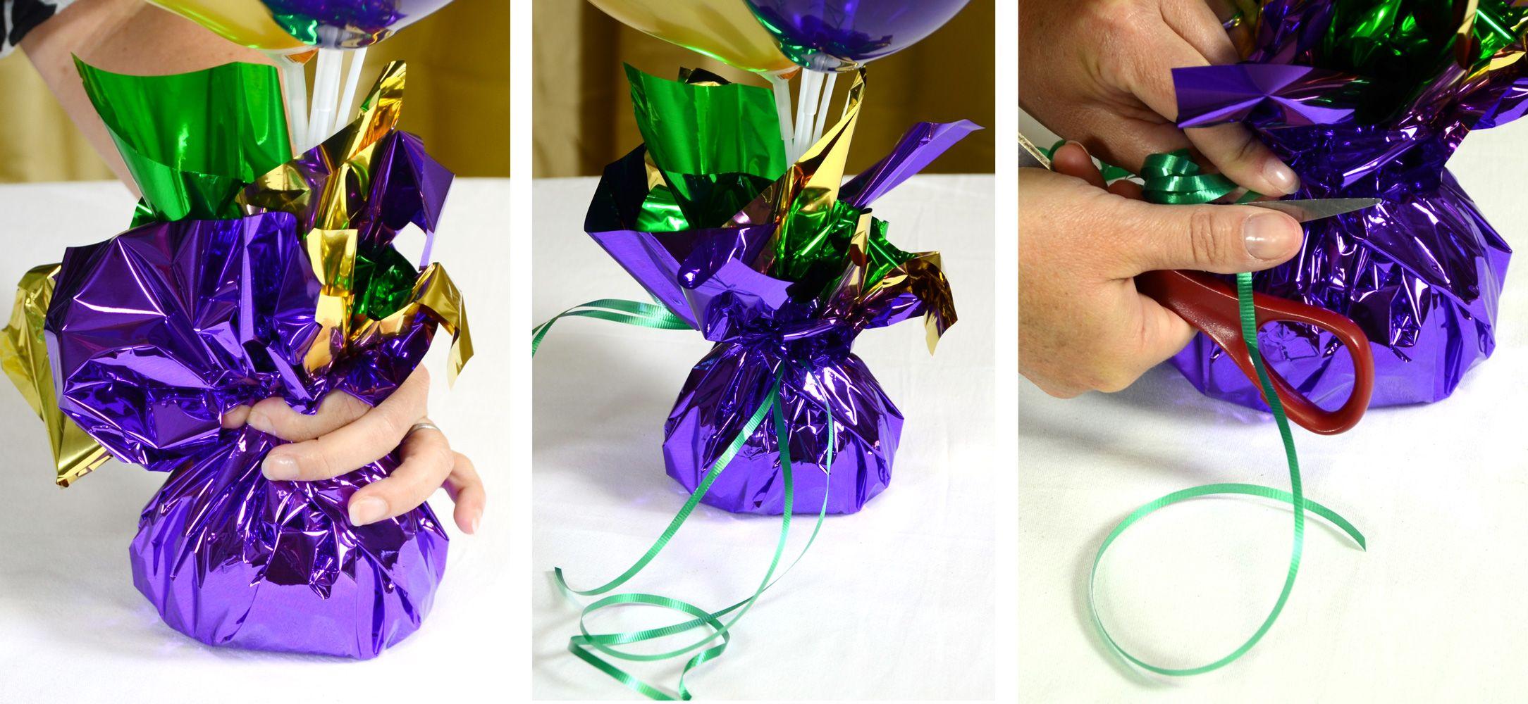 Airfilled Balloon Centerpieces Ideas & Tutorials