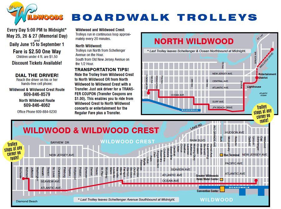wildwood boardwalk map adriftskateshop