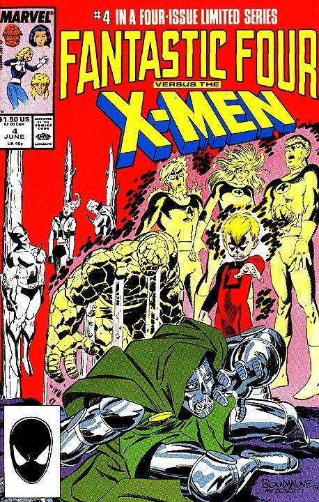 Fantastic Four Vs The X Men Vol 1 4 Marvel Comics Covers Marvel Comic Books Fantastic Four Comics