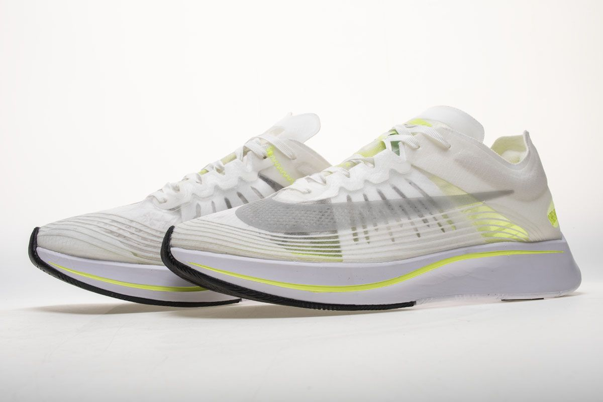 40cc95b56f82 NikeLab Zoom Fly SP White Fluorescent White AA3172-107 Shoes 5 ...